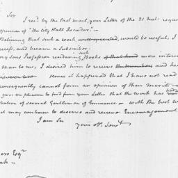 Document, 1818 March 30