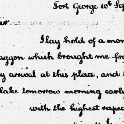 Document, 1789 September 10