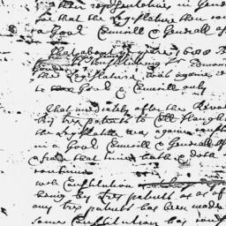 Document, 1721 n.d.