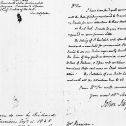 Document, 1782 January 21