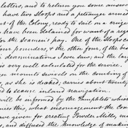Document, 1776 April 16